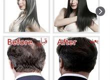 شامبو لصبغ الشعر باللون الأسود وتغطية فورية للشعر الأبيض ويدوم فترة طويلة