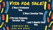 2 Years Freelance Visa for Sale!