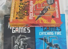 3 HUNGER GAMES books for 6 BD New Still Available
