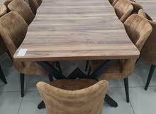 طاولات طعام خشب تركي