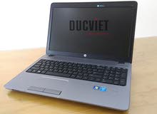 HP PROBOOK 450 G1 CORE I5 رمات : 4 جيجا DDR3 // هارد :500 جيجا