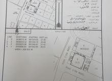 للبيع ارض تجارية سكنية ممتازة كورنر في المصنعة الشرس مفتوحة من اربع جهات