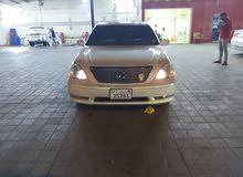 سيارة لكزس LS430 2005 اللون لؤلؤى استعمال حرمة اول مالك داخل الدولة صبغ وكالة