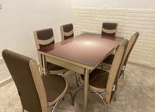 طاولة سفرة 6 اشخاص