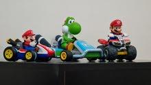 Luigi and Two Mario Cars