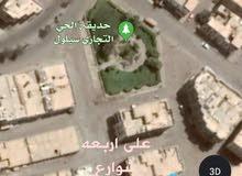 عمارة دورين على اربعه شوارع بالحي التجاري