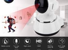 كاميرات مراقبة للمحلات ومنزل ومصانع مع انذار