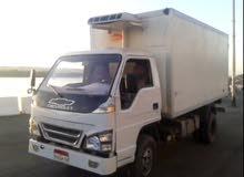 سيارة شفر شاسية طويل ثلاجة حمولة 6 طن بجالة جيدة للايجار شهريا بالسائق