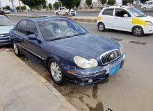 للبيع سوناتا2004 با 740 الف ريال يمني