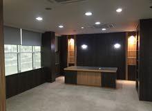 مكتب للايجار بالسلطه الجديده في مكان متميز