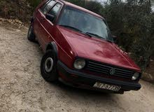 Maroon Volkswagen Golf R 1991 for sale