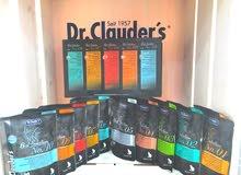 منتجات دكتور كلاودر مغلفات متنوعة الاطعمة ومضاف اليها مكملات غذائية