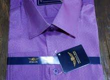 تصفيات يوجد لدينا اخر 80 قميص رجالي لون موف سادة فقط المفاجأة سعر القميص 30ج