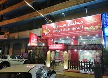 مطعم في السلط للبيع