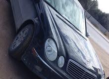 مرسيدس E320 ماشية 153 ميل