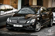2010 Mercedes E250 Coupe CGI