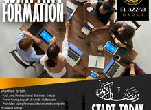 Company Formation with pandemic offer. Start your business now!