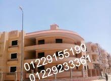 شقة العمر (سكن واستثمار ) علي ( شارع البستان ) الحي الثامن بالشيخ زايد
