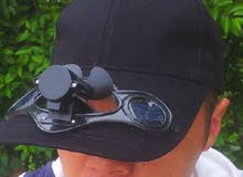 Solar Power Fan Hat Cap . cash on delivery anywhere in BAHRAIN .