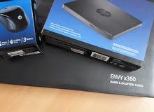 لابتوب hp ENVY 360 كارتون غير مفتوح  موديل 2018 الجيل الثامن
