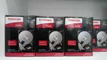 HDD TOSHIBA 1 TB 2 TB هارد ديسك توشيبا 1 تيرا بيت 2 تيرا بيت * ضمان سنة ا