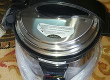 طباخة الكترونية (القدر المضغوط) سريع وسهل الاستخدام