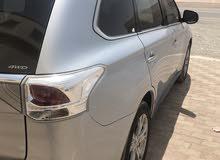 Silver Mitsubishi Outlander 2014 for sale