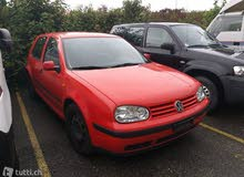 For sale 1999 Red Golf