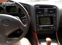 لكزس جي اس 400 فضي نظيف موديل 2000 للبيع او البدل مع جي اس 300 موديل 2003-2005