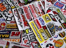 sticker for car and motorcycle