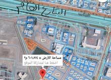 للبيع ارض سكني تجاري في المعبيله  كونر مربع 48 sw