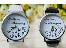 ساعة نسائية جميلة وغريبة