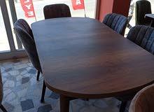 طقم 4كراسي مع طاوله