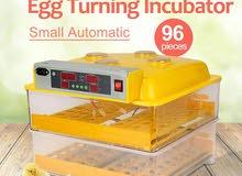 فقاسات سعة 96 و48 بيضة .