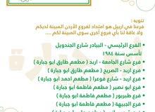 مطلوب مستثمر لمشروع فتح وكالة لشركة مطاعم اردنية وعلى مستوى الوطن العربي