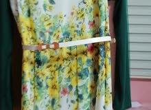 فستان مورد لون ابيض