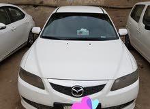 مازدا 2007 للبيع بحاله جيده اللون ابيض ت 66044017