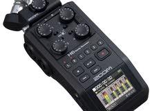 جهاز تسجيل محمول نوع (زوم ) H6 ( 6 مداخل / تسجيل 6 تراك )