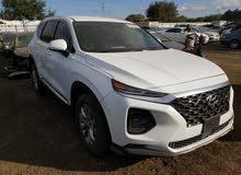 سيارة سنتافي 2019 SEL ابيض للبيع
