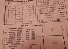 المالك للبيع ارض في ارزات صحنوت الشمالية التوزيع الجديد ثاني صفه من شار