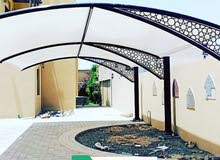 we make all kind of parking Shade and Tents
