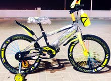 """New cycle for kids size 20"""" with LED lights on the side tiers flash color"""