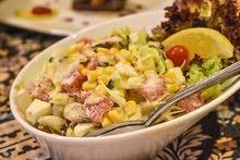 شيف مطبخ الحلبي بفندق كراون بلازا عمان وخبره بلمطبخ التركي على مستوى مطعم المدين