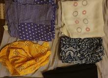 همزة ملابس تقليدية للبيع كلها ب 500 درهم. ثمن رمزي