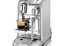 للبيع ماكينة قهوة نيسبريسو الجديده مستعمله خفيف جدا CREATISTA PRO