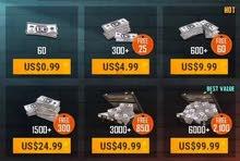 Cheapest PUBG UC - 8100 UC in 310 AED (100% legit)