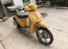 Up for sale a Piaggio motorbike