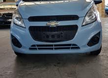شيفروليه سبارك2014 لون ازرق وارد قطر
