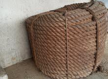 حبل  للبيع  200 متر  جديد لم  يتم الاستعمال   .