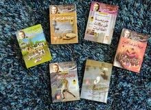مجموعة كتب ورويات قيمة جديدة ومستعملة باسعار مناسبة